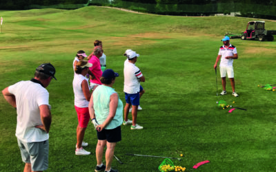 Ecole de golf confirmé entrainements