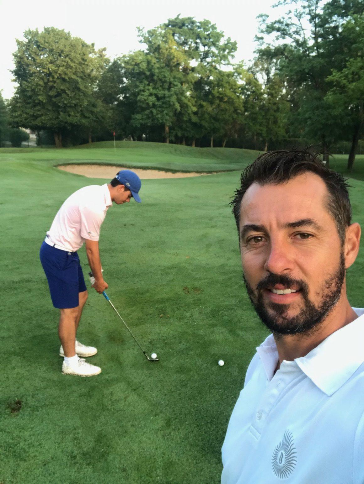 Anthony Maublanc - prof de golf à Lyon - cours de golf