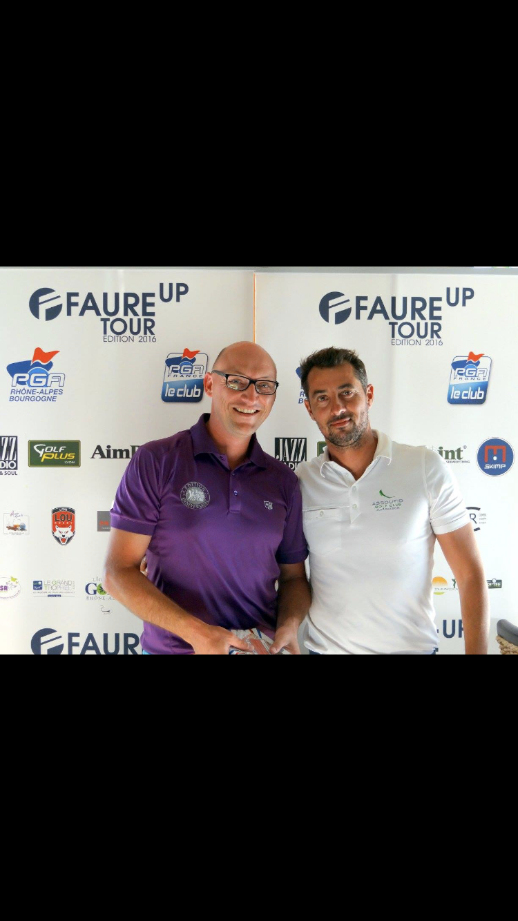 Anthony Maublanc - prof de golf à Lyon - cours de golf à Miribel Jonage